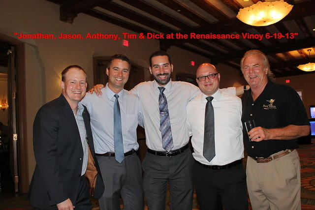 Jonathan, Jason, Anthony,Tim & Dick.  Great evening!