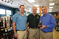 "Brett, Dick & Mike (regional manager) @ ""ABC 1930 Thomasville Rd, Tallahassee"" 8-11-11"