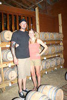 Bart & Jackie w/the barrels!