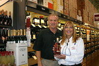 "Dick & Darlene @ ""Total Wine Clearwater"" 7-15-11"