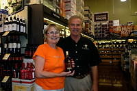 "Mary & Dick @ ""Total Wine St Pete"" 7-16-11"