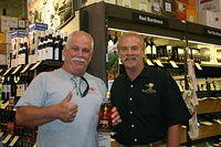 "Bryan & Dick @ ""Total Wine St Pete"" 7-16-11"