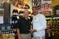 "Dick & Donnie @ ""Total Wine Stuart"" 7-22-11"