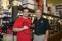 Steven & Dick @ Total Wine St Pete 3-26-11