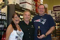 Kathy & Brett @ Total Wine St Pete 3-26-11