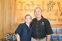 "Carolyn & Dick @ ""Total Wine Jax 5-25-12"""