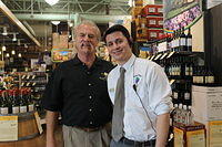 "Dick & Adam @ ""Total Wine Jax 5-25-12"""
