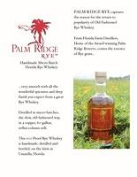 Palm Ridge Rye-released December 2014